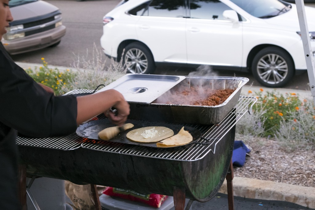 Grilling tacos