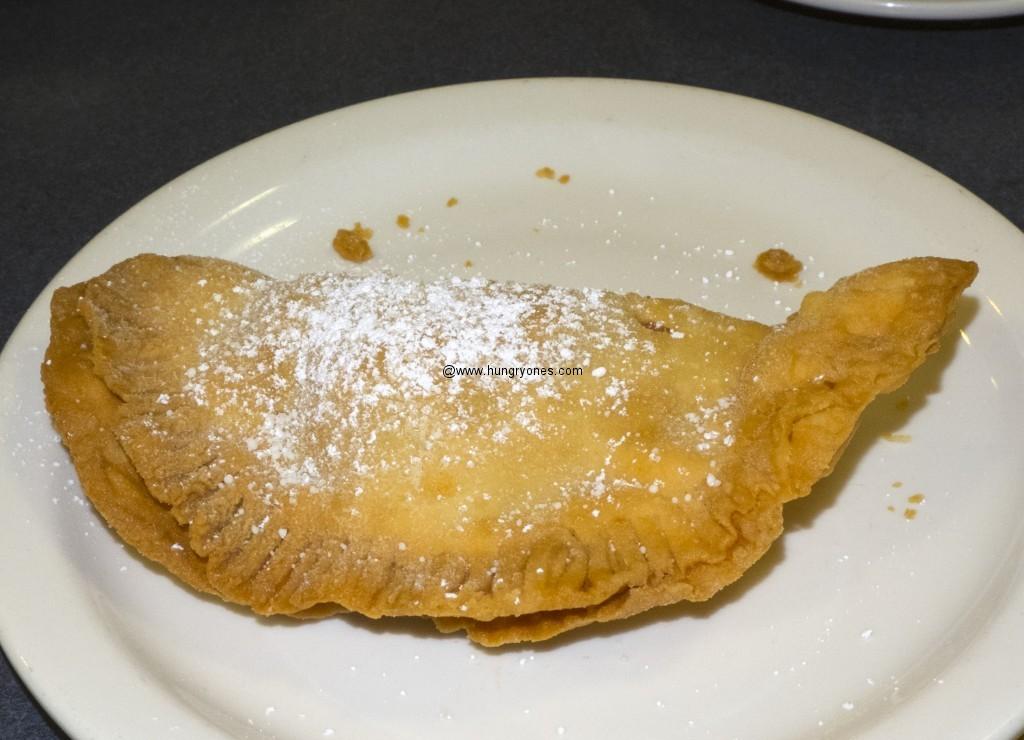Fried apple pie.