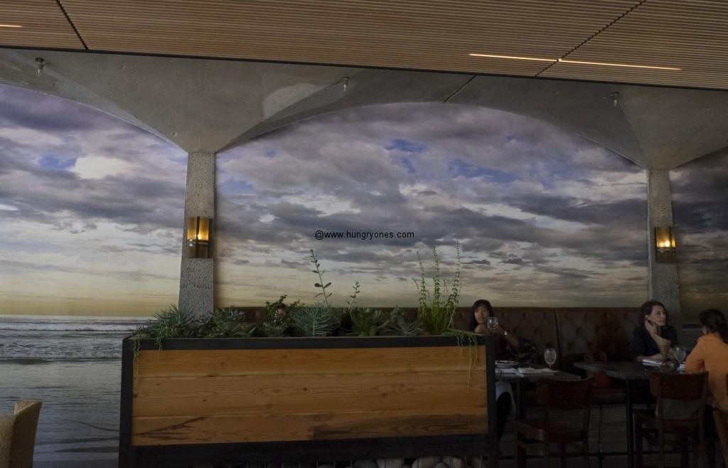 La Jolla Shores mural inside.