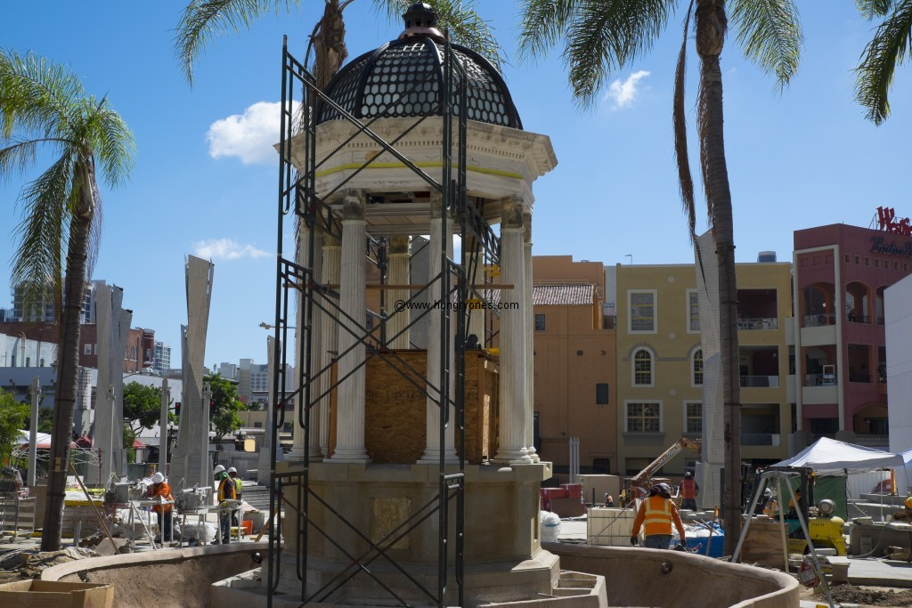 Act II: Horton Plaza fountain