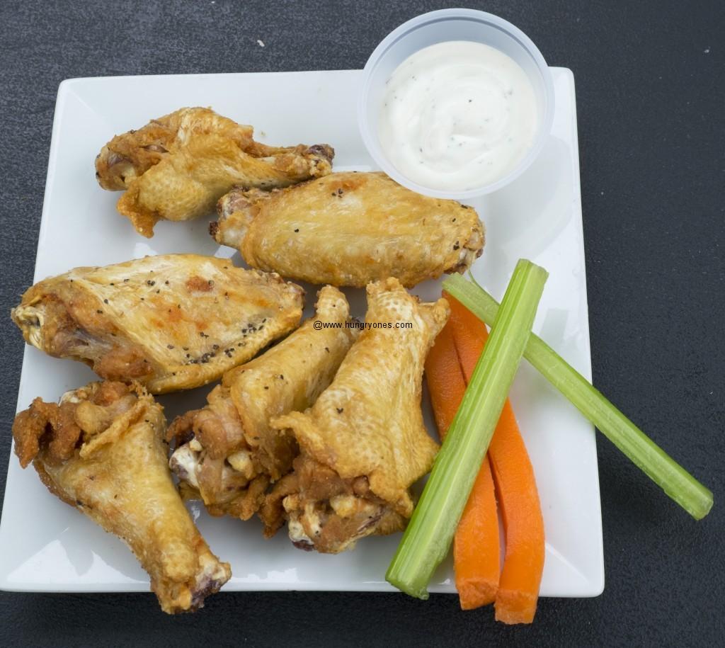 Salt and pepper wings.