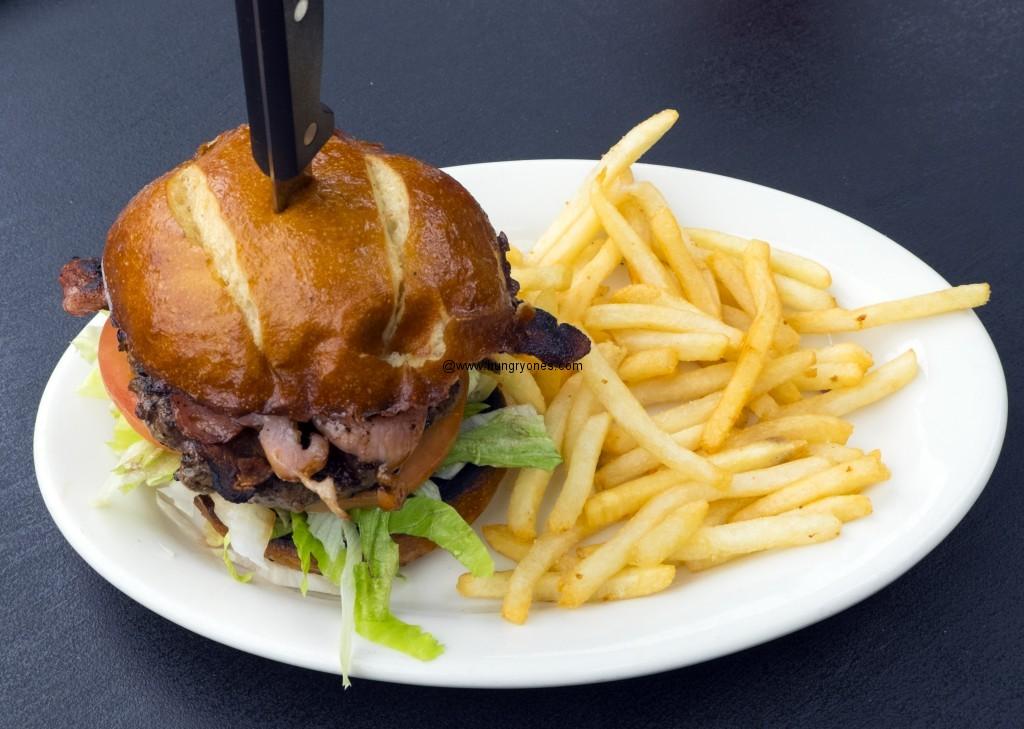 Bacon burger.