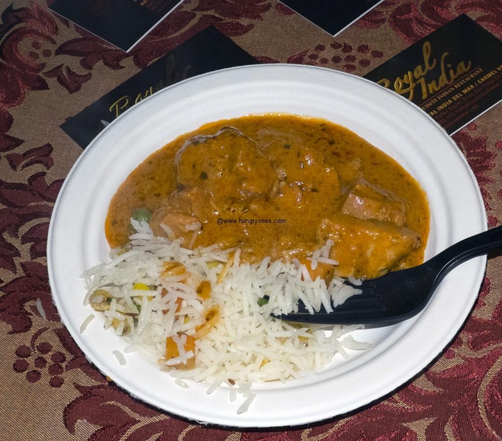 Royal India chicken marsala.