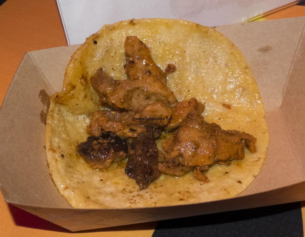 Senor Grubby's al pastor taco