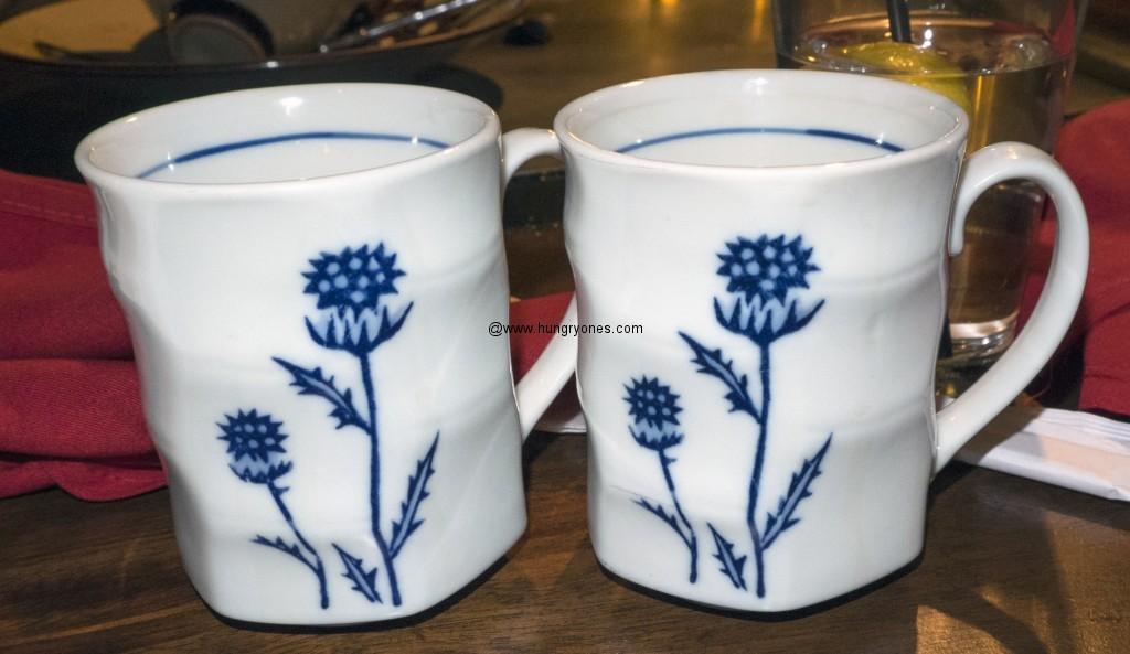 Safflower tea cups