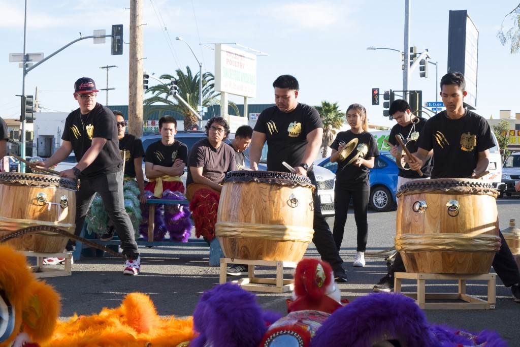 Music for the lion dance