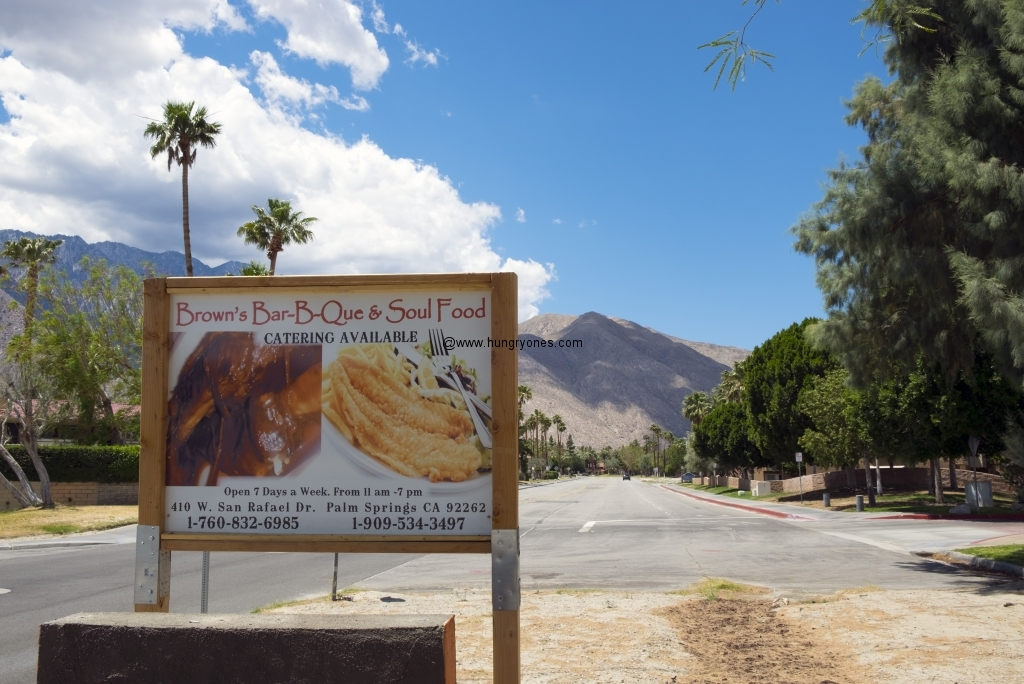 Seen from the street.