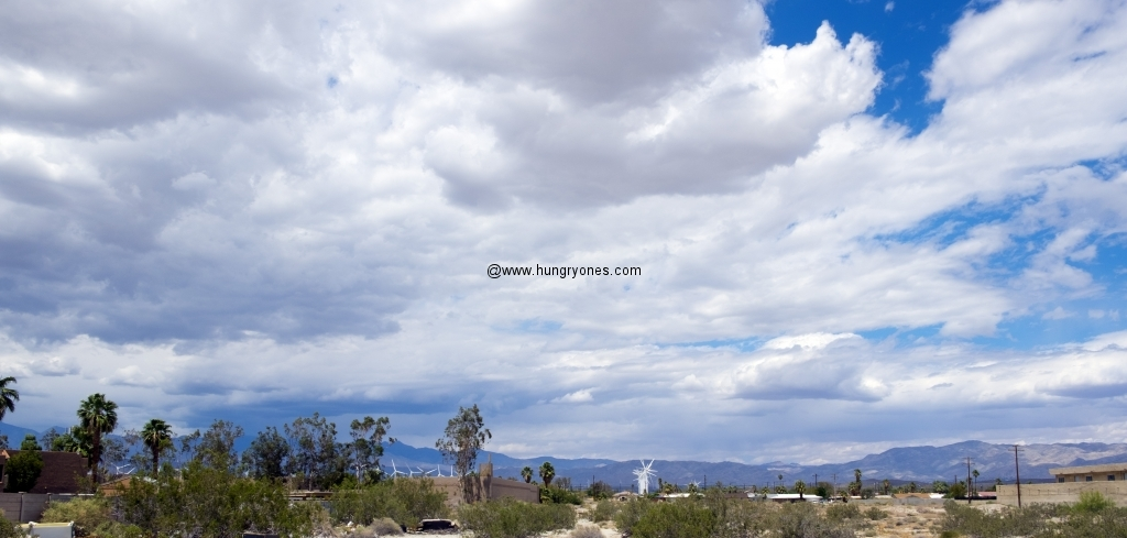 View from Brown's parking lot.