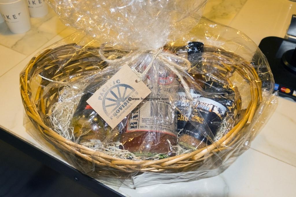 Gift basket I won!